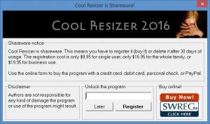 Enlarge Cool Resizer Screenshot