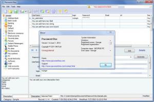 Enlarge Password Box Screenshot