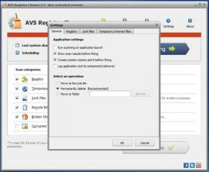 Enlarge AVS Registry Cleaner Screenshot