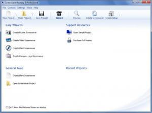 Enlarge Screensaver Factory Screenshot