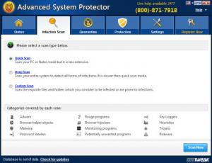 Enlarge Advanced System Protector Screenshot