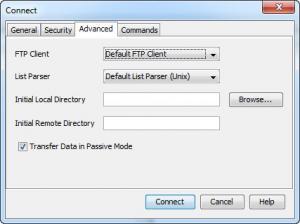 Enlarge JFTP Screenshot