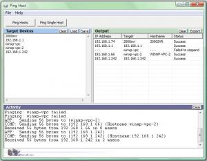 Enlarge Ping Host Screenshot