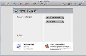 Enlarge 5DFly Photo Design Screenshot