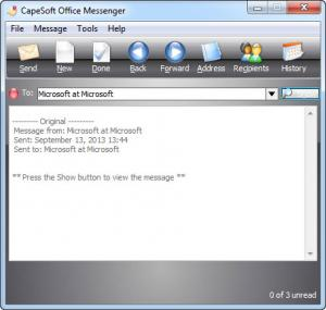 Enlarge CapeSoft Office Messenger Screenshot