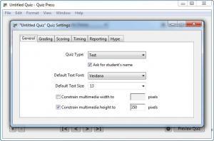 Enlarge Quiz Press Screenshot