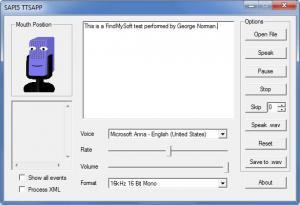 Enlarge eSpeak Screenshot