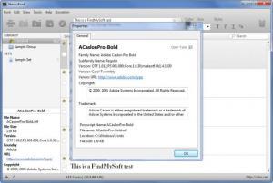 Enlarge NexusFont Screenshot
