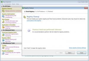 Enlarge Reg Organizer Screenshot