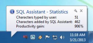 Enlarge SQL Assistant Screenshot