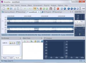 Enlarge Acoustica Standard Edition Screenshot