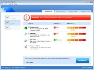 Enlarge Auslogics BoostSpeed Screenshot