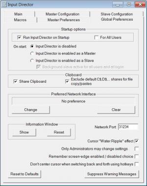 Enlarge Input Director Screenshot