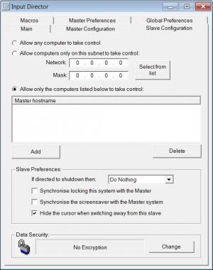 Enlarge Input Director Screenshot
