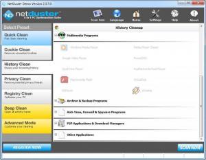 Enlarge NetDuster Screenshot
