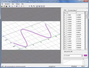 Enlarge GetData Graph Digitizer Screenshot