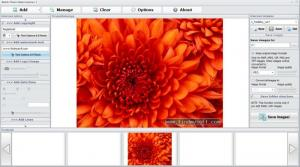 Enlarge Batch Photo Watermarker Screenshot