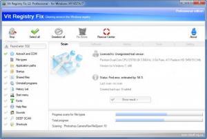 Enlarge Vit Registry Fix Professional Screenshot
