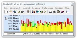 Enlarge Bandwidth Meter Screenshot