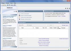 Enlarge memoQ Translator Pro Screenshot