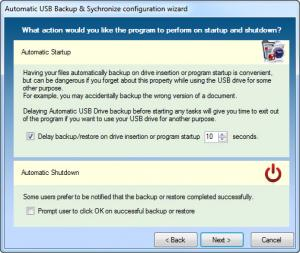 Enlarge Automatic USB Backup Screenshot