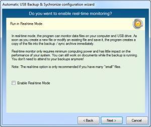 Enlarge Automatic USB Backup Screenshot