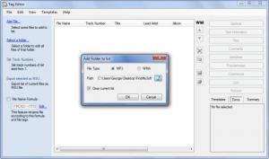 Enlarge Professional Tag Editor Screenshot