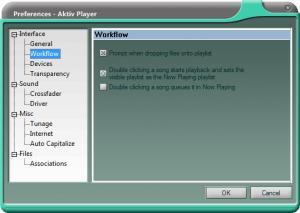 Enlarge Aktiv Player Screenshot