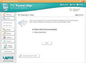 Enlarge PC Tune-Up Screenshot