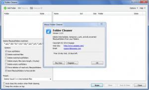 Enlarge Folder Cleaner Screenshot