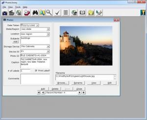 Enlarge PhotoLibrary Screenshot