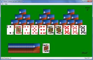 Enlarge TriPeaks Solitaire Screenshot