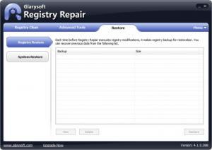 Enlarge Registry Repair Screenshot