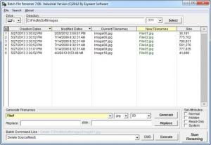 Enlarge Batch File Renamer Screenshot