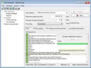 Enlarge SEO Administrator Screenshot