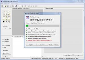 Enlarge BitFontCreator Pro Screenshot