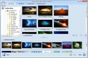 Enlarge Sothink Photo Album Maker Screenshot