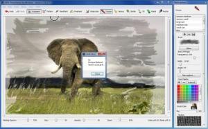 Enlarge GMX-PhotoPainter Screenshot