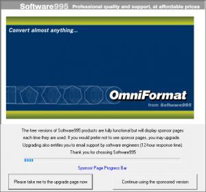 Enlarge Omniformat Screenshot