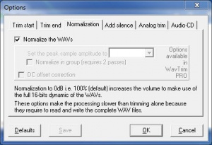 Enlarge WavTrim Screenshot