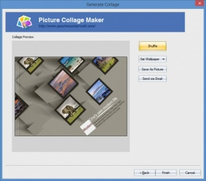 Enlarge Picture Collage Maker Pro Screenshot