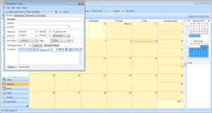 Enlarge Efficient Calendar Screenshot