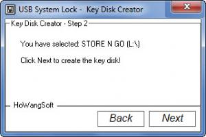 Enlarge USB System Lock Screenshot