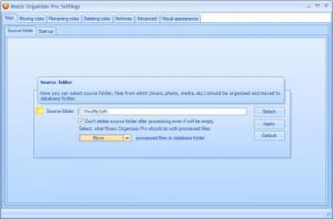 Enlarge Music Organizer Pro Screenshot