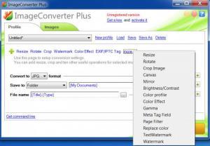Enlarge Image Converter Plus Screenshot