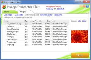 Enlarge Image Converter Plus Screenshot