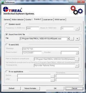 Enlarge Tireal Webcam Guard Screenshot