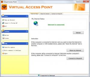 Enlarge Virtual Access Point Screenshot