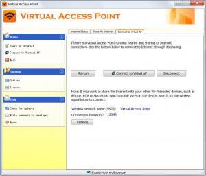 Enlarge Virtual Access Point Screenshot