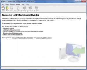 Enlarge BitRock InstallBuilder Professional Screenshot